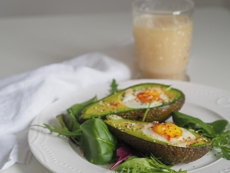 avokádové vejce