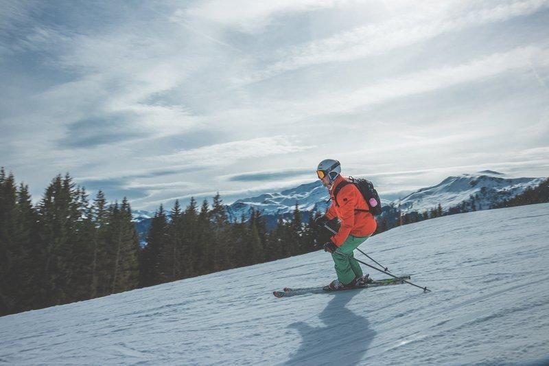 lyžování a hubnutí