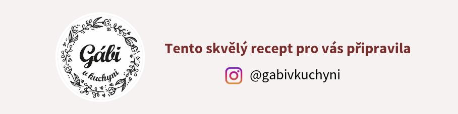 Gábi v kuchyni instagram
