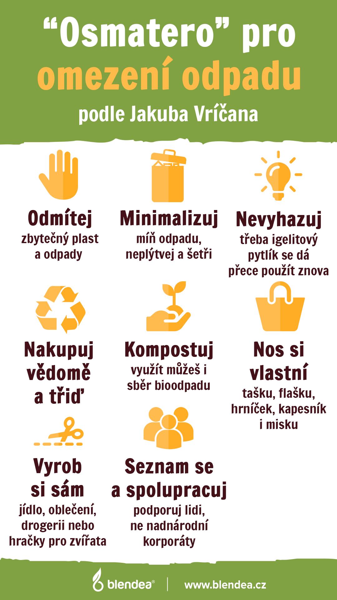 osmatero odpad infografika
