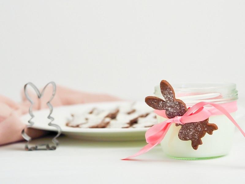 velikonoční špaldové sušenky