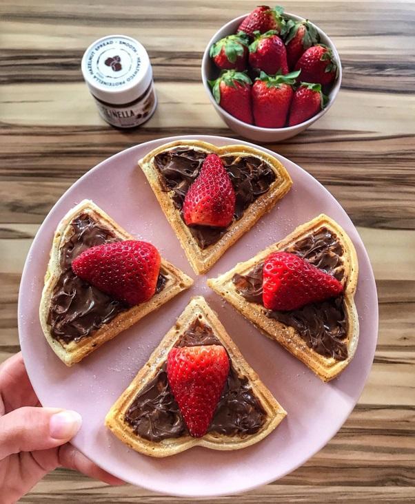 Andy Jankovská a recept na waffle