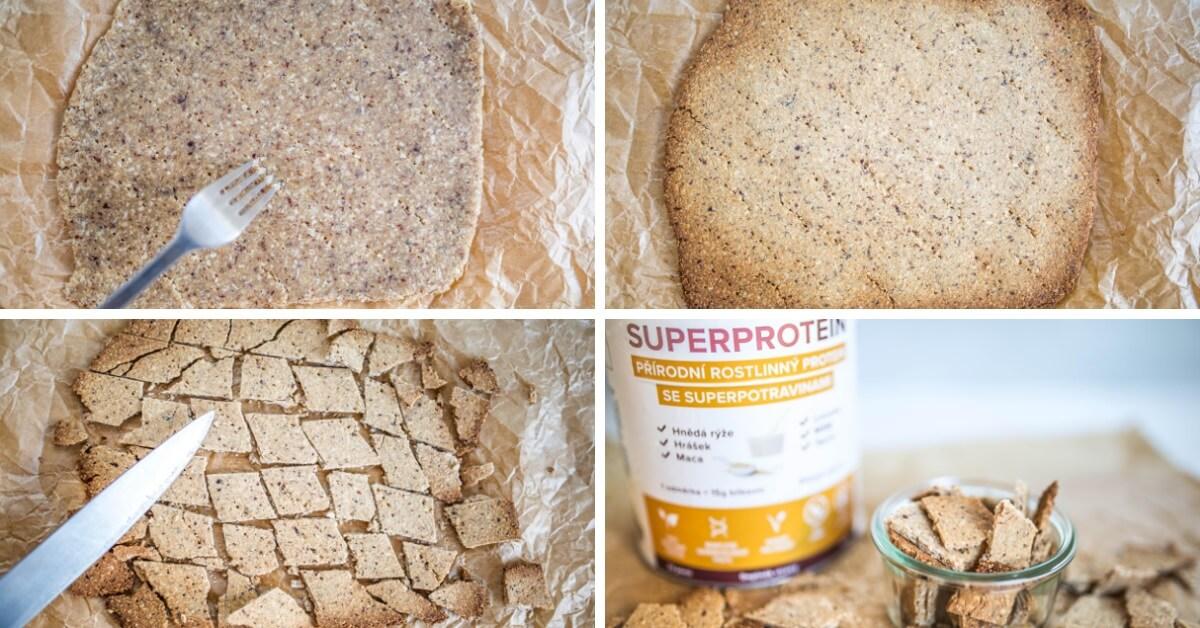 snídaňové proteinové chrumky