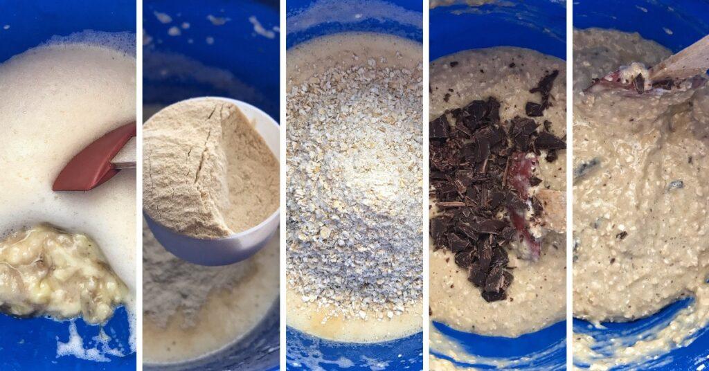 čokoládové muffiny, recept