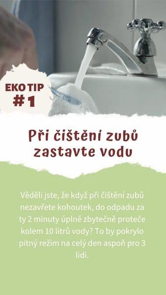 ekotip čištění zubů