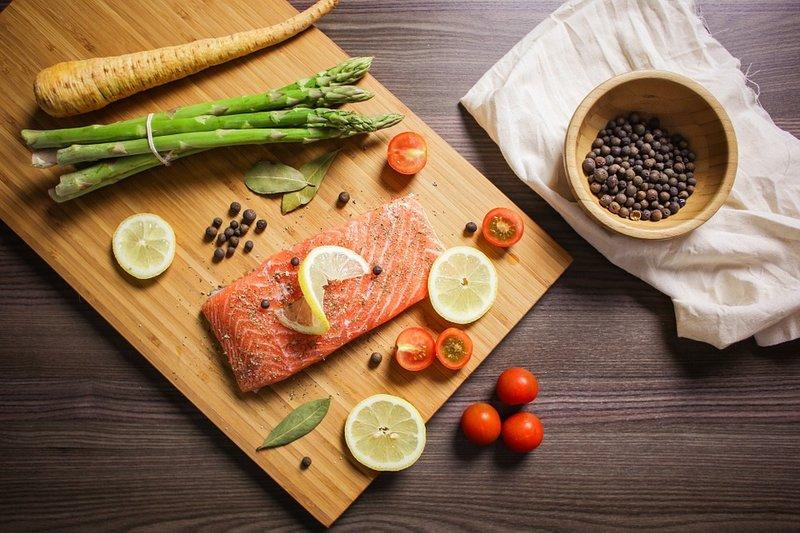 ryba a zelenina