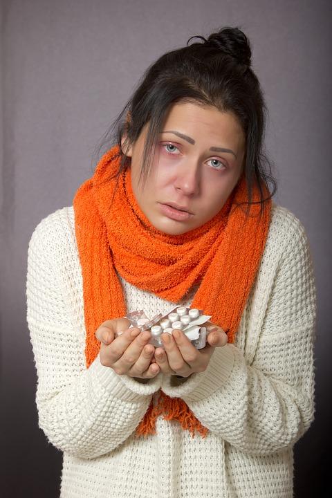 nachlazení nemoc léky