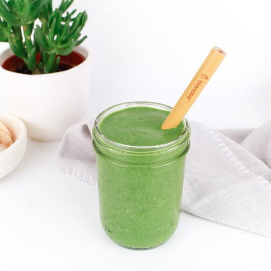 Zelené smoothie v Ball skleničke