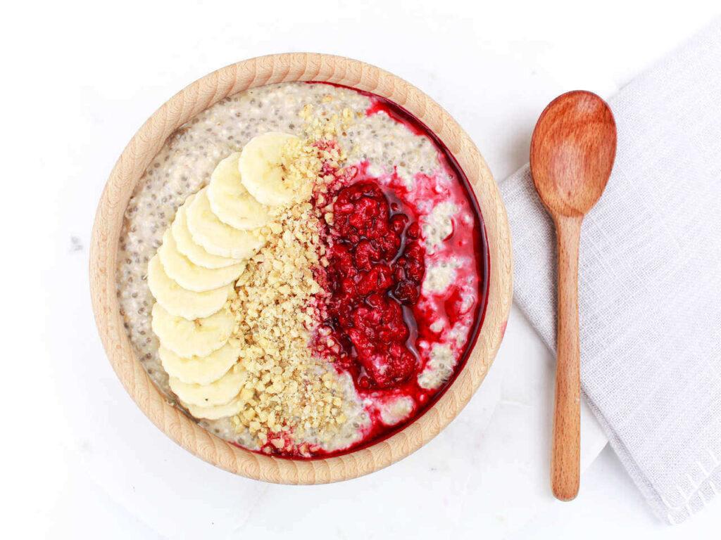 proteinové overnight oats recept