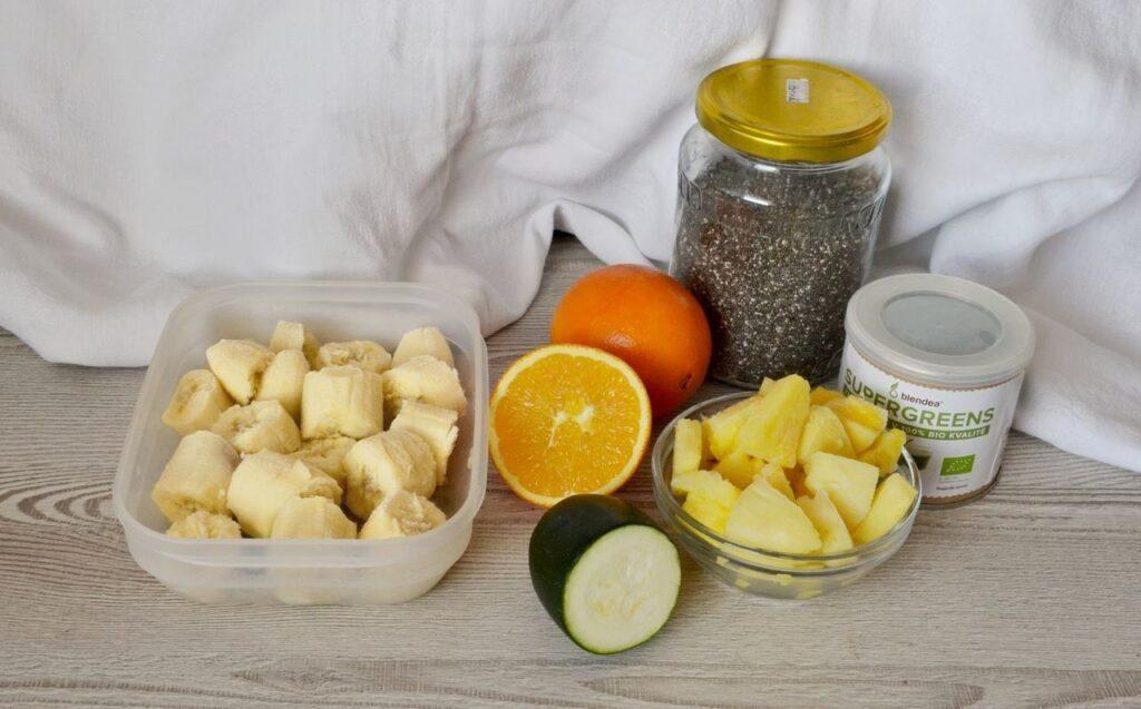 cuketovo-ovocné smoothie recept