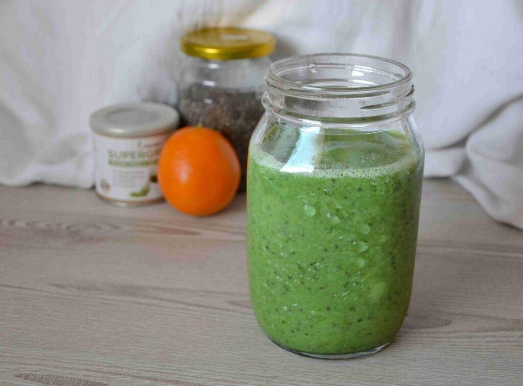 zelené cuketové smoothie
