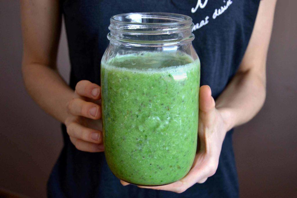 zelené imunitné smoothie