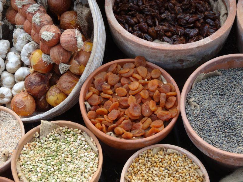 luštěniny a obiloviny, zdroje bílkovin