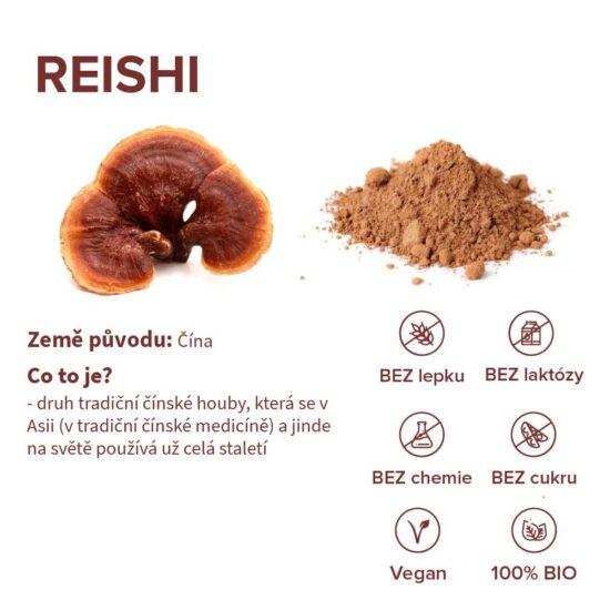 Benefity tradiční čínské houby reishi