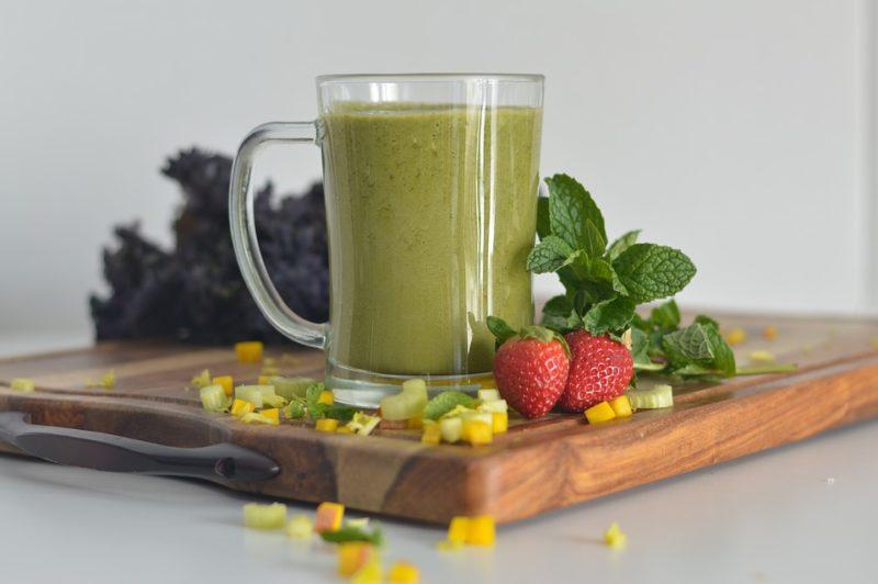 ovocné smoothie s chagou