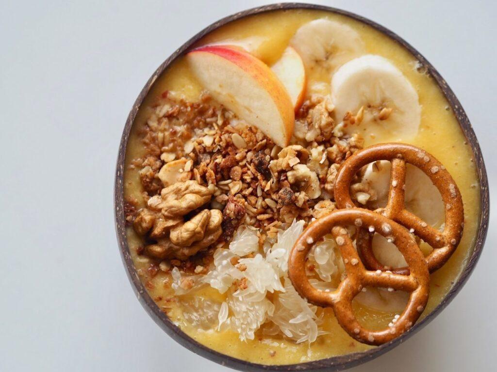 vitamínová smoothie bowl