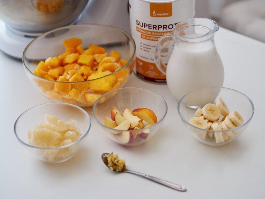 vitamínová smoothie bowl recept