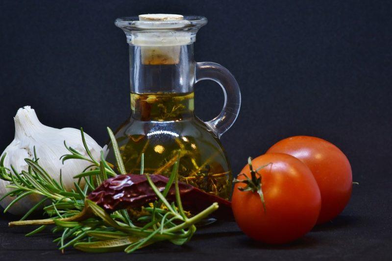 olivový olej a rajčata pro podporu imunity