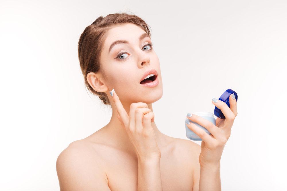 pleťová kosmetika s antioxidanty