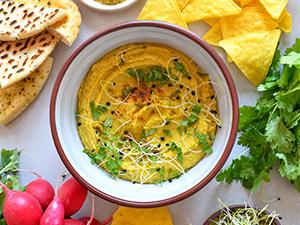 Vegetariánsky hummus z červené čočky