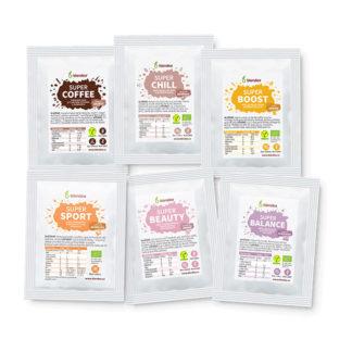 Ochutnávkový balíček Blendea směsí 6 vzorků