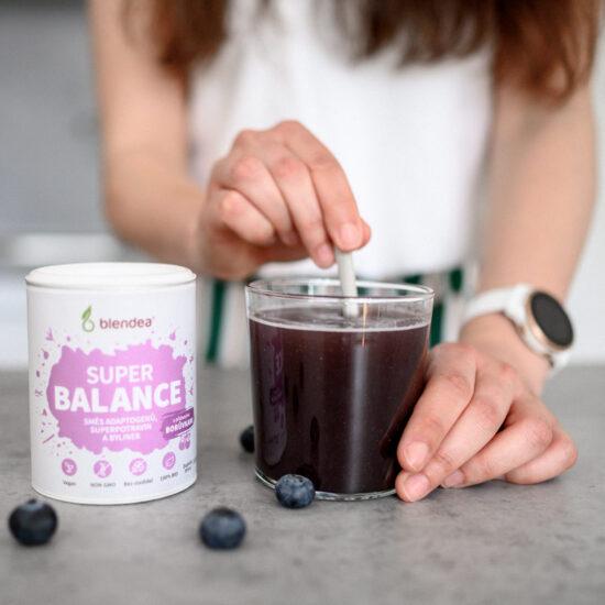Míchání nápoje Superbalance