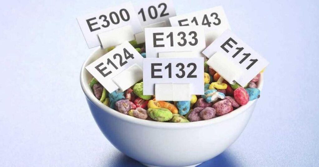 aditiva v potravinách