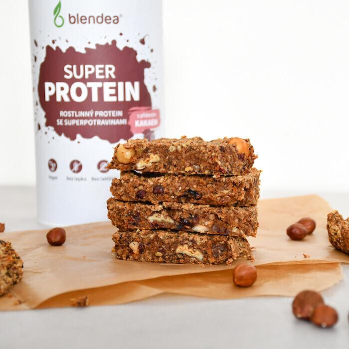 proteinové tyčinky recept