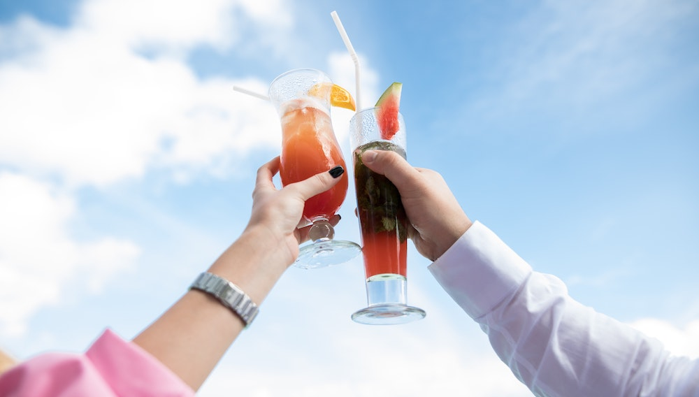 Letní nápoje bez cukru