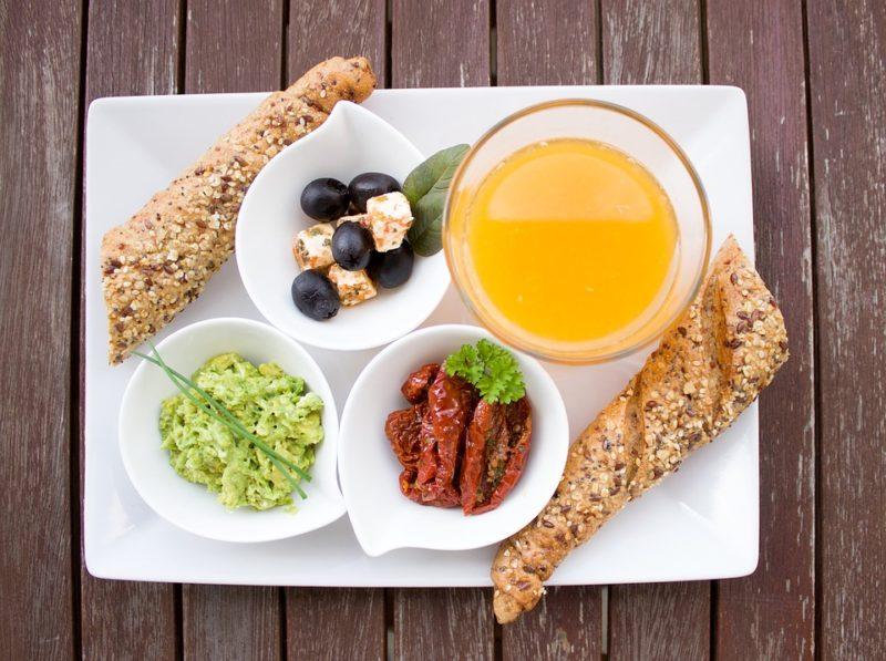 jídelníček se zdravými tuky